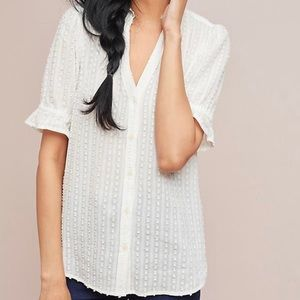 Meadow Rue Cosette Ivory / White Blouse